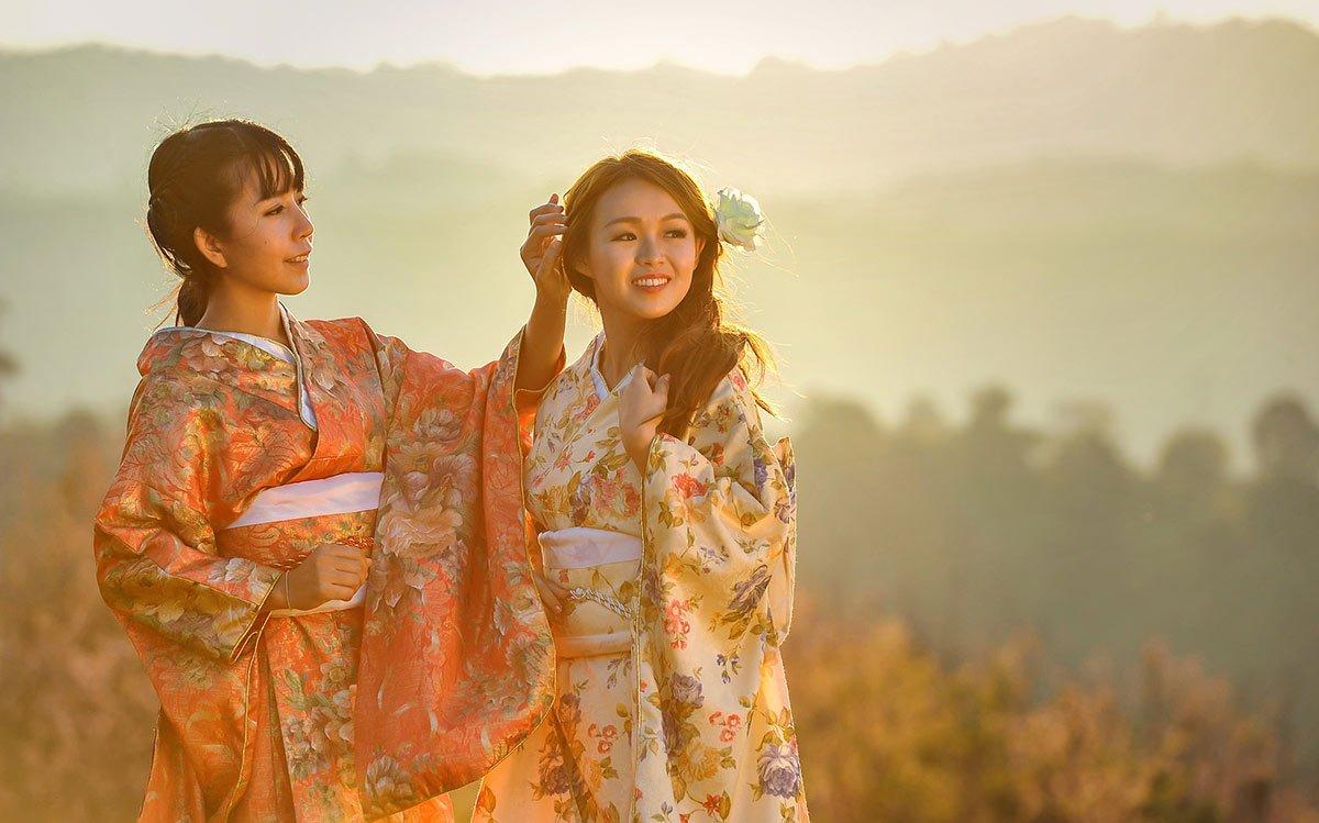japonski dekleti