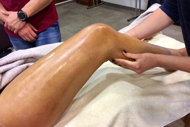 masaža noge