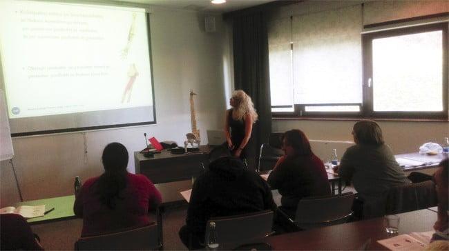 predavanje anatomija telesa na tečaju klasične masaže