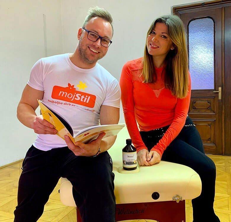 Jasna Kuljaj na tečaju klasične masaže