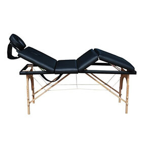 prenosna štiridelna masažna miza
